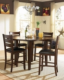 Homelegance 586-36-24X4 Ameillia Counter Height Round Dining Collection