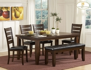 Homelegance 586-586SX4-586-14 Ameillia Dining Collection