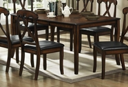 Homelegance 630-72 Kinston Dining Table With 18 Inch Leaf