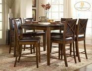 Homelegance 727-36 Pub Height Dining Set