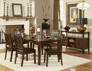 Homelegance 727-72 DINING TABLE, OAK VENEER (VERONA)