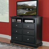 Homelegance 814Bk-11 Preston TV Chest
