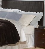 Homelegance 815PU-1 Copley Dark Brown Bi Cast Vinyl Headboard