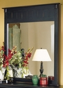 Homelegance 875-6 Pottery Mirror Black