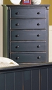 Homelegance 875-9 Pottery Chest Black
