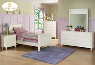 Homelegance 875TW-1 Twin Panel Bed