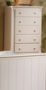 Homelegance 875W-9 Pottery Chest White