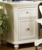 Homelegance 8891-A2 Hanna 2 Drawer Cabinet White
