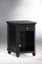 Homelegance 8891BK-A1 Hanna Cpu Cabinet 1 Drawer Black