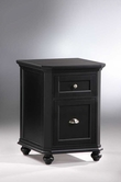Homelegance 8891BK-A2 Hanna 2 Drawer Cabinet Black