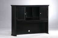 Homelegance 8891BK-E Hanna Hutch Bookshelf Black