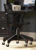 Homelegance 8891BKS Hanna Swivel Chair Black