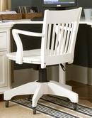 Homelegance 8891S Hanna Swivel Chair White