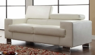 Homelegance 9603WHT-2 LOVE SEAT