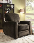 Homelegance 9734CH-1 CHAIR, CHOCOLATE PLUSH