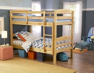 Homelegance B28-1 Brandon Pine Bunk Bed