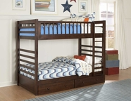 Homelegance B33E-1 Dreamland Twin Twin Bunk Bed