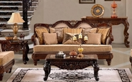 Homey Design HD-1064-CO-E-SF SOFA TABLE SET