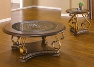 Homey Design HD-2101-CO-E COFFEE-END TABLE SET