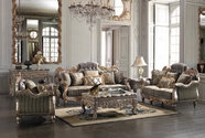Homey Design HD-287-S+L SOFA AND LOVESEAT