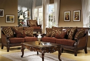 Homey Design HD-301-S+L SOFA AND LOVESEAT