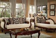 Homey Design HD-462-S+L SOFA AND LOVESEAT