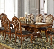 Homey Design Hd-8072-T Formal Dining Set