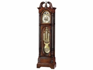 Howard Miller 610948 STEWART Anniversary CLOCK Windsor Cherry Floor Clock