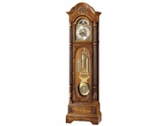 Howard Miller 610950 CLAYTON Anniversary CLOCK Yorkshire Oak Floor Clock