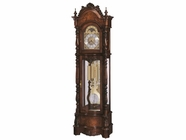 Howard Miller 611015 VERONICA Windsor Cherry Floor Clock