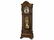 Howard Miller 611025 HAMLIN Rustic Cherry Floor Clock