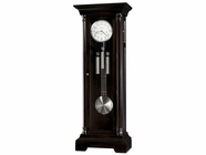 Howard Miller 611032 SEVILLE Black Coffee Floor Clock