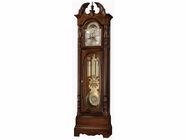 Howard Miller 611042 ROBINSON Cherry Bordeaux Floor Clock