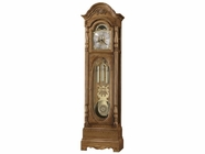 Howard Miller 611044 SCHULTZ 79th ANNIVERSARY Golden Oak Floor Clock
