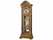 Howard Miller 611048 NICOLETTE AMBASSADOR Golden Oak Floor Clock