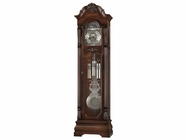 Howard Miller 611102 NEILSON Rustic Cherry Floor Clock