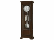 Howard Miller 611136 FULTON Cherry Bordeaux Floor Clock