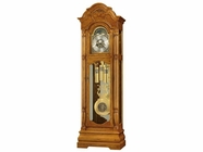 Howard Miller 611144 SCARBOROUGH 82ND Anniversay ASH Legacy Oak Floor Clock