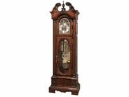Howard Miller 611180 COOLIDGE PRESIDENTIAL FLOOR Saratoga Cherry Floor Clock