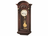 Howard Miller 612221 JENNISON Windsor Cherry Wall Clock