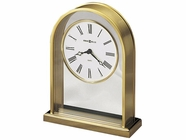 Howard Miller 613118 REMINISCE Polished Brass Table Top Clock