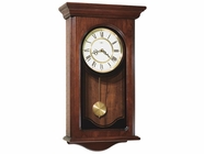 Howard Miller 613164 ORLAND Windsor Cherry Wall Clock