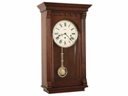 Howard Miller 613229 ALCOTT Windsor Cherry Wall Clock