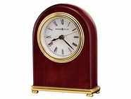 Howard Miller 613487 ROSEWOOD ARCH Rosewood Table Top Clock