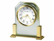 Howard Miller 613573 PARAMOUNT Polished Brass Table Top Clock