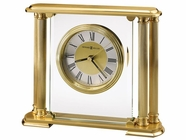 Howard Miller 613627 ATHENS Polished Brass Table Top Clock
