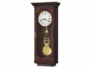 Howard Miller 613637 LEWIS Windsor Cherry Wall Clock