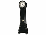 Howard Miller 615005 NASHUA Worn Black (Brown Underto Floor Clock