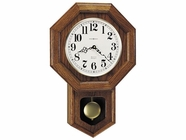 Howard Miller 620112 KATHERINE Yorkshire Oak Wall Clock
