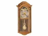 Howard Miller 620156 FENTON Golden Oak Wall Clock